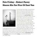 Robert Pacey featured in I Live in East Van